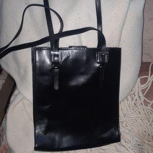 🦄 3/$60  Andrea Mabiani black leather tote